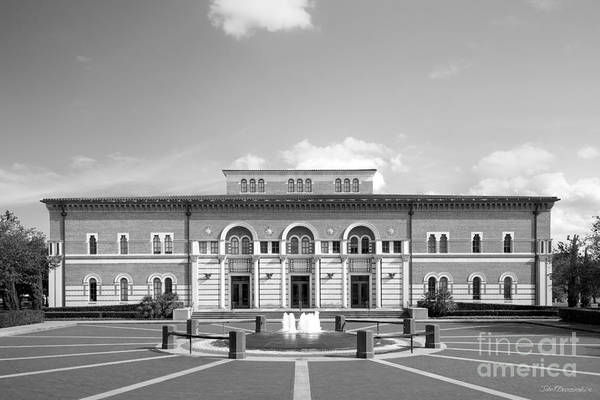 Photograph - Rice University Baker Institute by University Icons