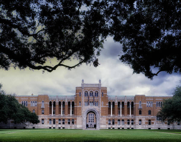 Rice Photograph - Rice University by Mountain Dreams