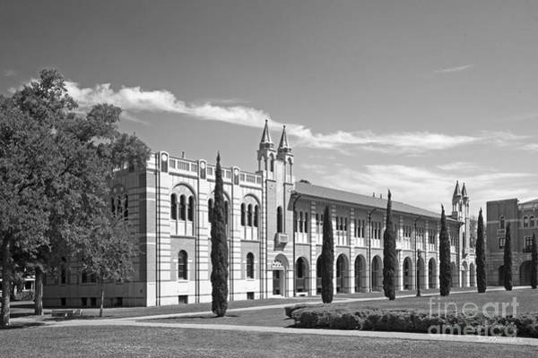 Photograph - Rice University Herzstein Hall by University Icons