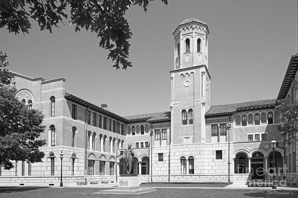 Photograph - Rice University Keck Hall by University Icons