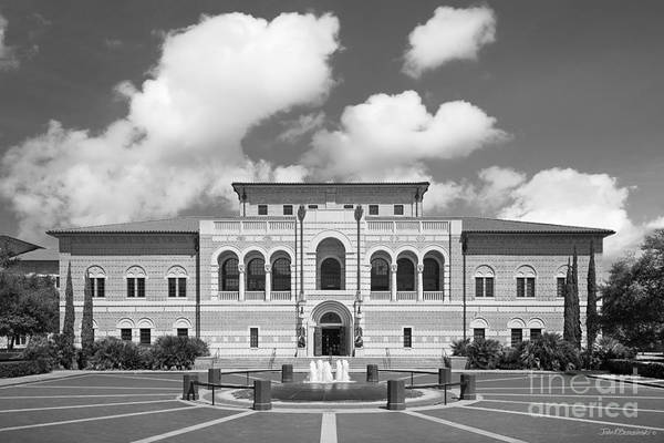 Photograph - Rice University Mc Nair Hall by University Icons