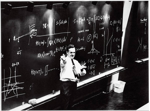 Wall Art - Photograph - Richard Feynman by Cern/science Photo Library
