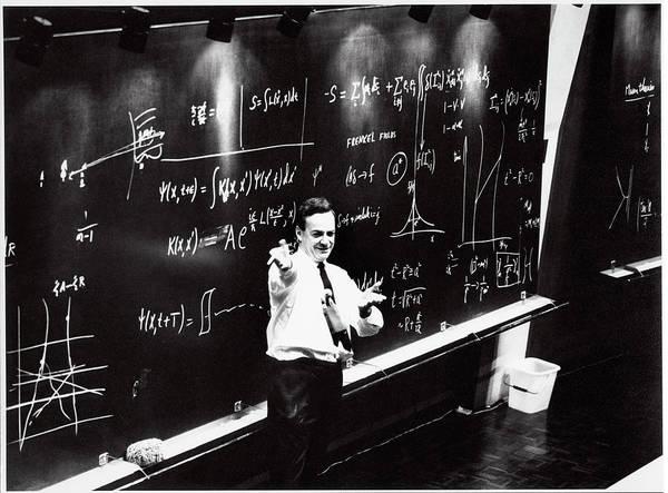 Nobel Prize Winners Wall Art - Photograph - Richard Feynman by Cern/science Photo Library