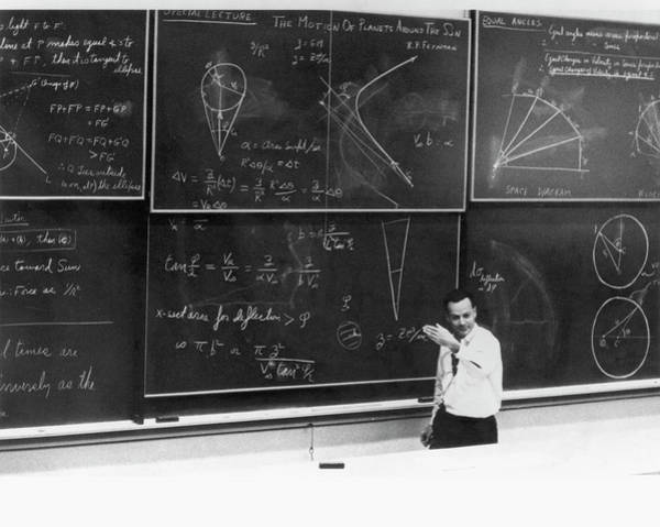 Wall Art - Photograph - Richard Feynman by Us Department Of Energy