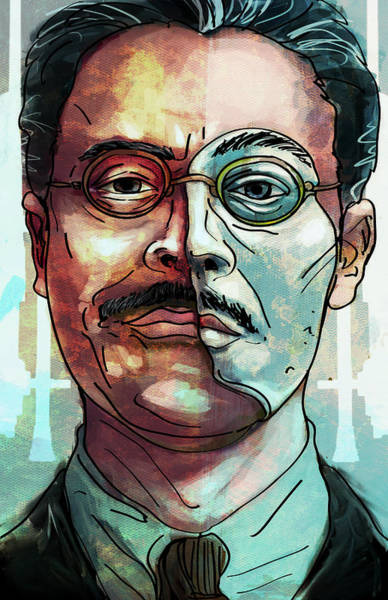 Mask Digital Art - Richard Harrow by Jeremy Scott