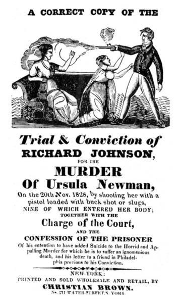 Murderer Painting - Richard Johnson D by Granger