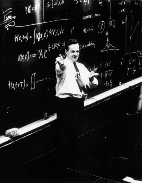 Photograph - Richard P. Feynman (1918-1988) by Cern/science Photo Library