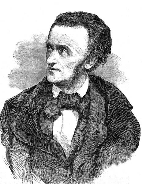 1889 Photograph - Richard Wagner by Collection Abecasis