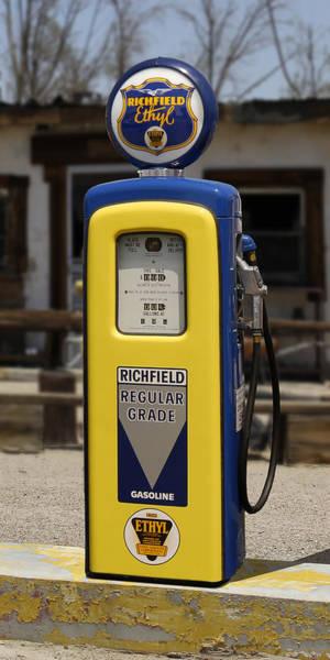 Wall Art - Photograph - Richfield Ethyl - Gas Pump by Mike McGlothlen