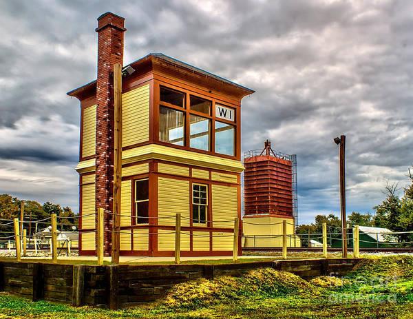 Photograph - Richland Tower by Nick Zelinsky