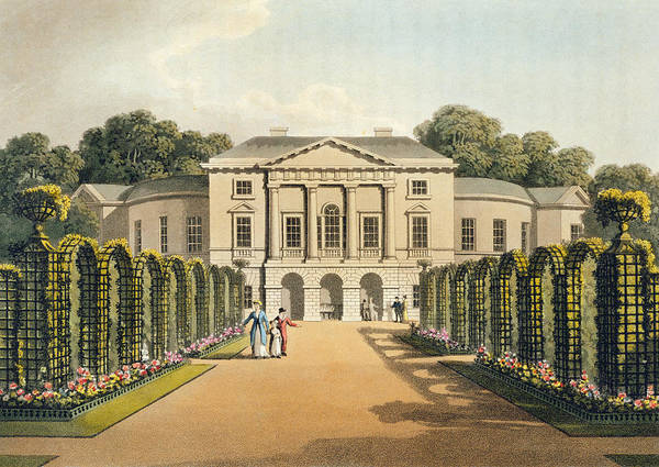 Portico Painting - Richmond Park by Humphry Repton