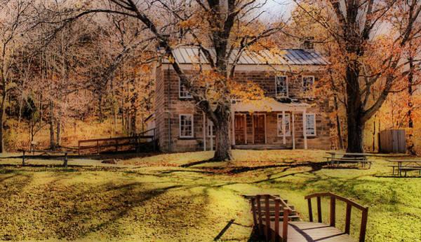 Photograph - Rickenbaugh House by Sandy Keeton