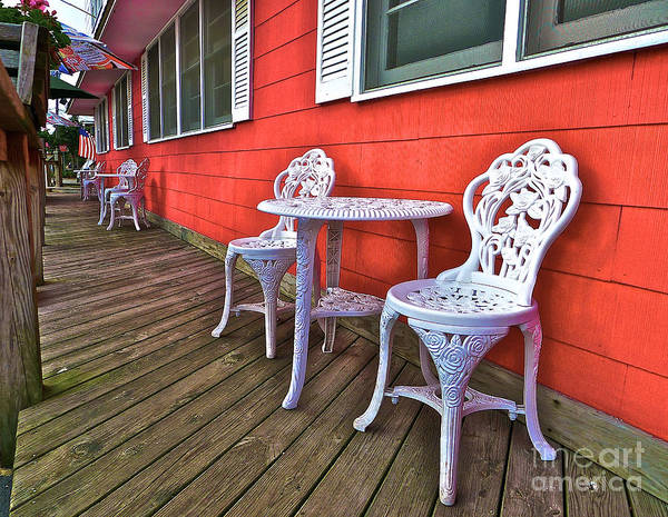 Photograph - Rick's Porch by Mark Miller