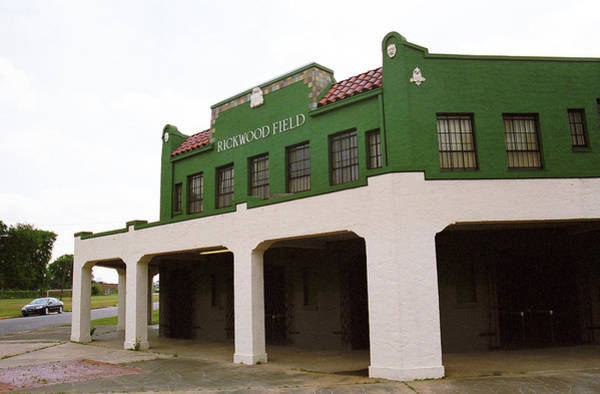 Photograph - Rickwood Field by Frank Romeo