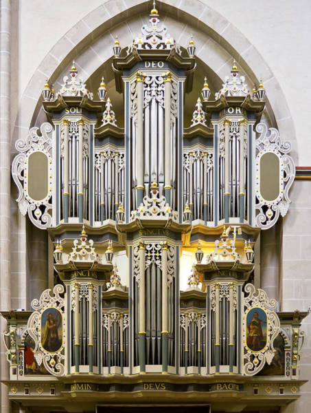 Photograph - Riddagshausen Organ by Jenny Setchell
