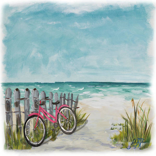 Ride Digital Art - Ride Along The Shore by Julie Derice