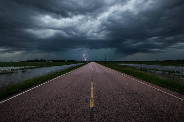 Photograph - Ride The Lightning by Aaron J Groen