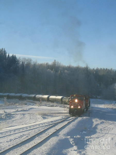 Photograph - Ride The Rails by Vivian Martin