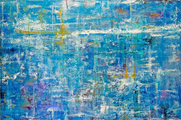 Wall Art - Painting - Rider In The Sky by Derek Kaplan