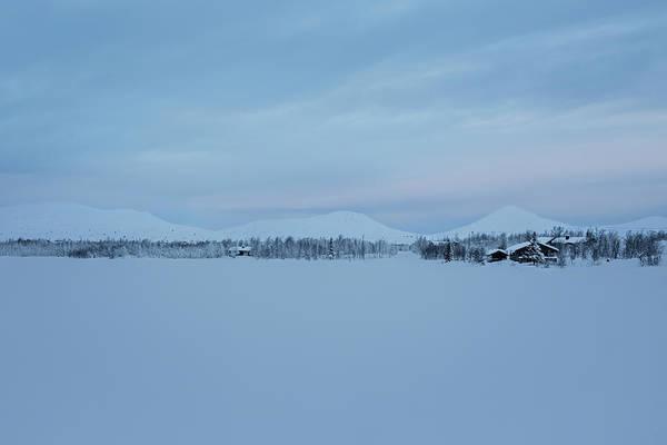 Lillehammer Photograph - Ridge Of Hills In Snowlandscape, Norway by Betsie Van Der Meer