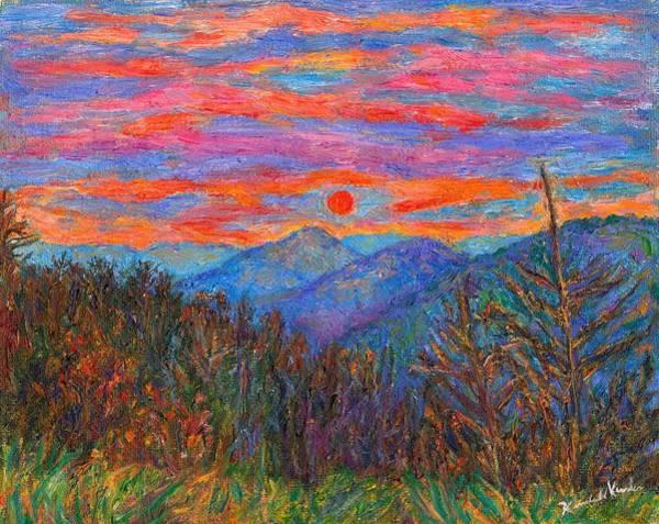 Painting - Ridgeland Winter Beauty by Kendall Kessler