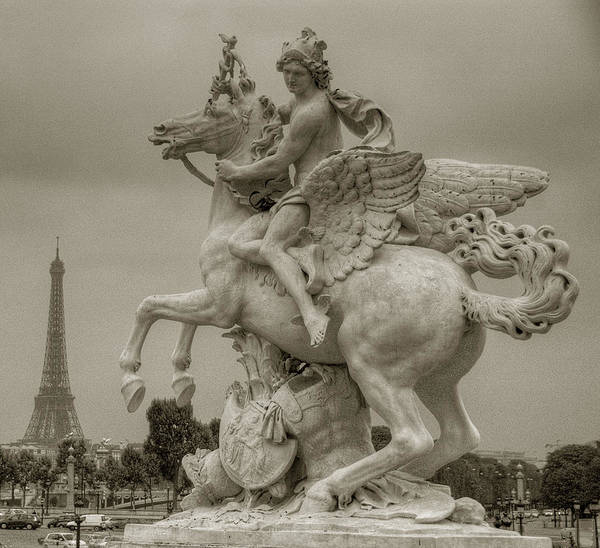 Photograph - Riding Pegasis by Michael Kirk