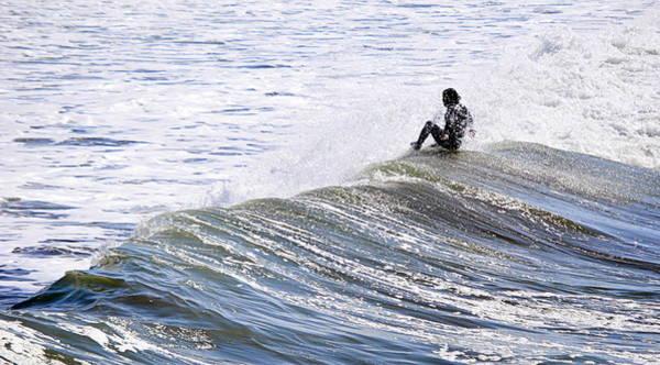 Photograph - Riding The Wave by AJ  Schibig