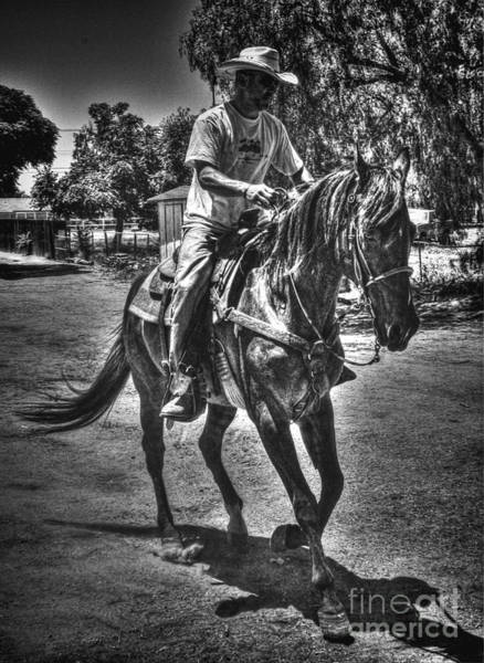 Norco Photograph - Riding by Tommy Anderson