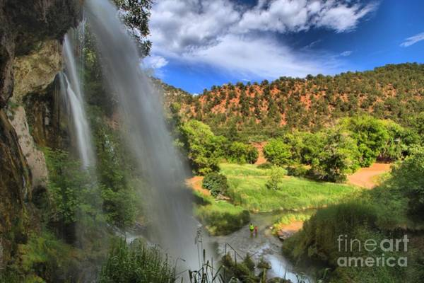 Photograph - Rifle Falls Valley by Adam Jewell