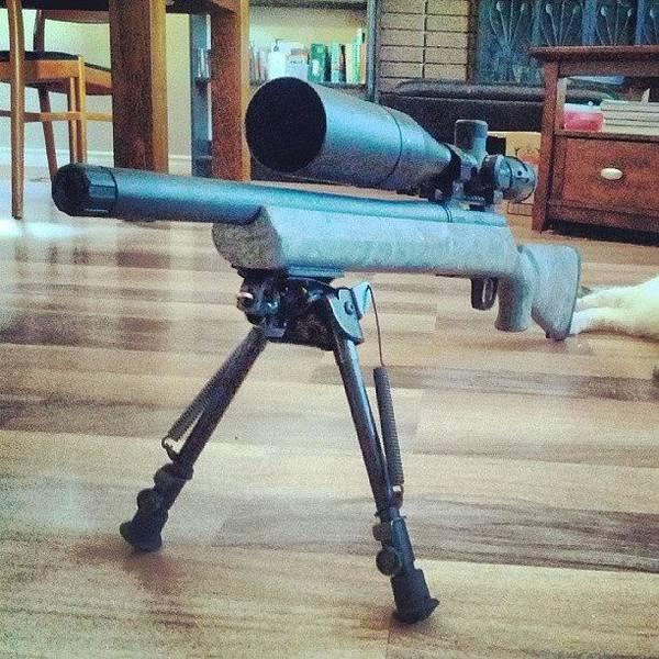 Rifles Photograph - #rifle #vortex #viper #remington by . .