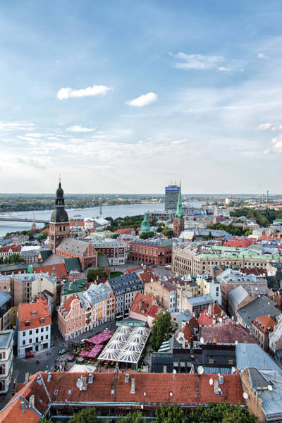 Christianity Photograph - Rigas Magical Sky | Latvia, Baltic by Stefan Cioata