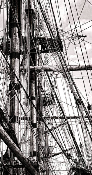 Rigging Photograph - Rigging by Olivier Le Queinec