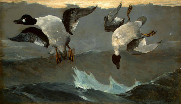 Wall Art - Painting - Right And Left  by Winslow Homer