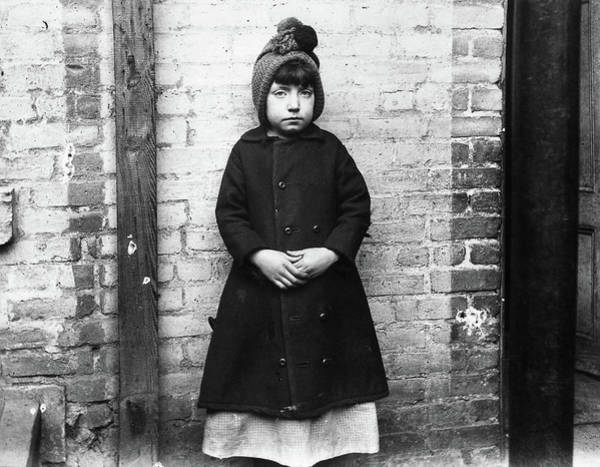 Photograph - Riis Immigrant Girl, 1892 by Granger