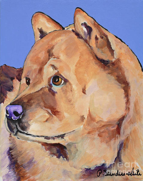 Painting - Riley by Pat Saunders-White