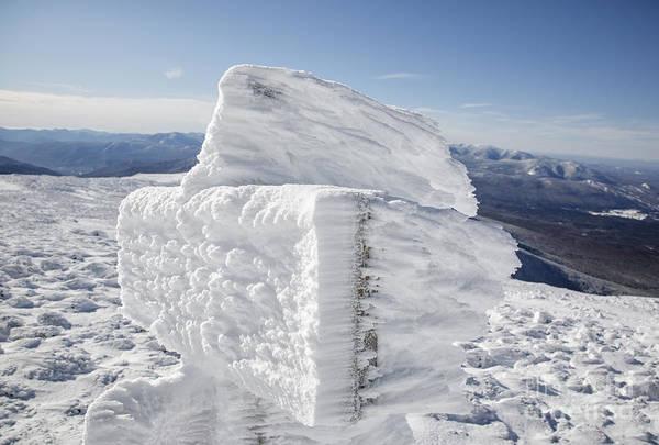 Photograph - Rime Ice - Mt Washington New Hampshire  by Erin Paul Donovan