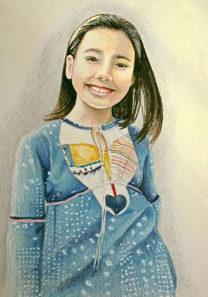Drawing - Rina by Tim Ernst