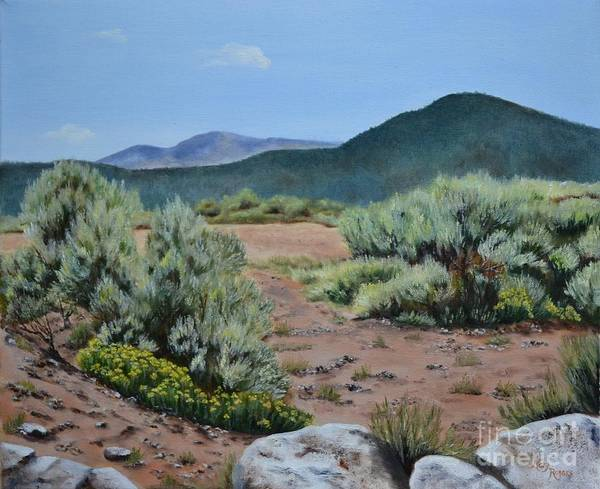 Mary Rogers Painting - Rinconada Loop by Mary Rogers