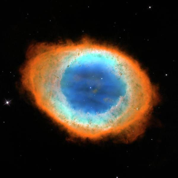 Wall Art - Photograph - Ring Nebula M57 by Nasa/esa/hubble Heritage Team/stsci/aura/science Photo Library