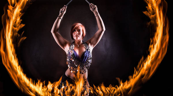Fire Ring Photograph - Ring Of Fire by Monte Arnold