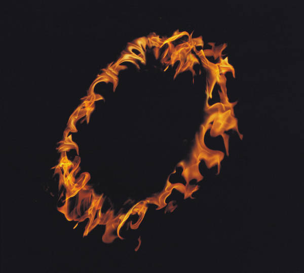 Fire Ring Photograph - Ring Of Flames by Panoramic Images