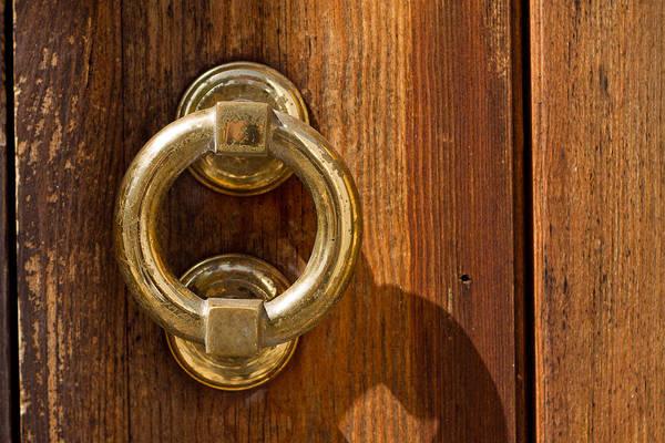 Photograph - Ring On The Door by Raimond Klavins