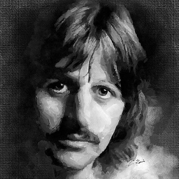 Digital Art - Ringo by Charlie Roman