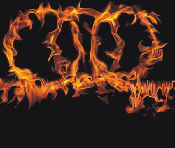 Fire Ring Photograph - Rings Of Flames by Panoramic Images
