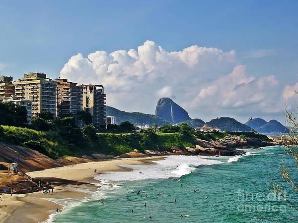 Photograph - Rio De Janeiro - Arpoador Beach by Carlos Alkmin
