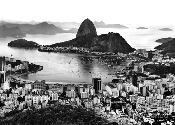 Photograph - Rio De Janeiro Famous Sightseeing - Sugar Loaf / Guanabara Bay by Carlos Alkmin