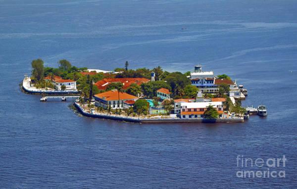 Photograph - Rio De Janeiro - Ilha Das Enxadas - Island At Guanabara Bay by Carlos Alkmin