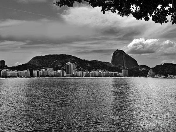 Photograph - Rio De Janeiro Panoramic Of Baia De Guanabara And Sugar Loaf by Carlos Alkmin