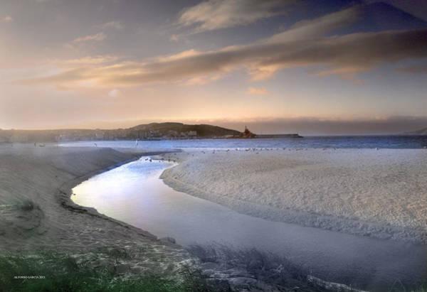 Galicia Photograph - Rio De Laxe by Alfonso Garcia
