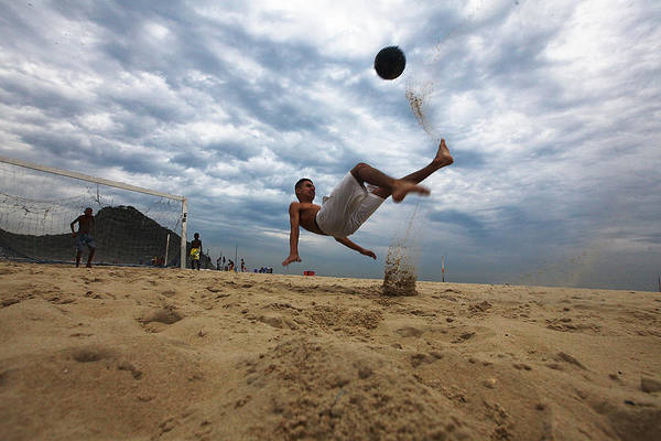 Photograph - Rio Gears Up For World Cup Tourism by Mario Tama